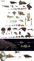 StarCraft to Scale by xiaorobear