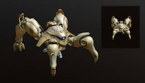 Dragoon WIP (sketchfab link inside) (update) by xiaorobear