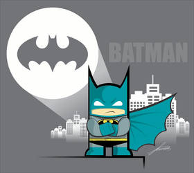 Mini Batman by LucasMT