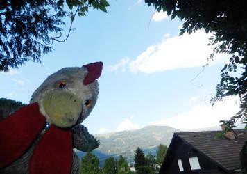 A Chicken In Austria by LenaFlynn