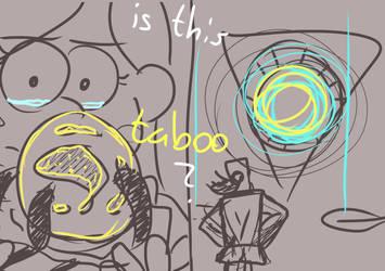 WIP- PMV Gravity Falls .:Sketch:. by LenaFlynn