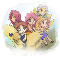 ff5- group shot by T3hb33