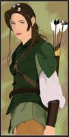 Elven Huntress by lokiducks