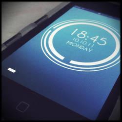 My iPod's Lockscreen by kndllalx