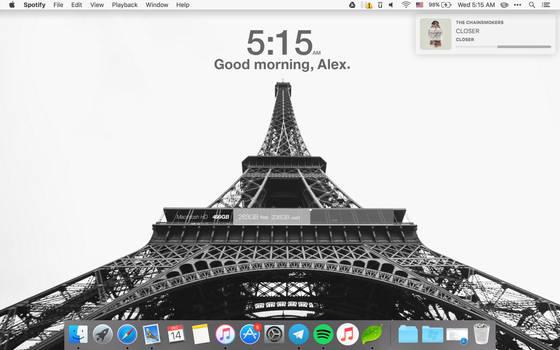 Mac Desktop   December 2016 by kndllalx