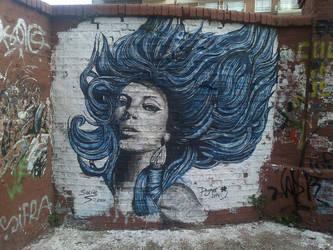 Caballito Blue Girl by FdAr77