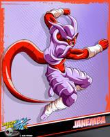 DBkai card #10 Janemba by Bejitsu