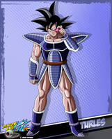 DBkai card #11 Turles by Bejitsu