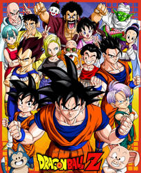 Goku and Friends by Bejitsu