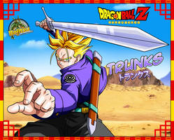 Dragon ball z- Trunks by Bejitsu