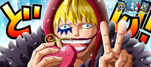 One Piece Ch766 - Donquixote Rosinante(Corazon) by Bejitsu