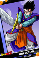 New Card 2 - Son Gohan by Bejitsu