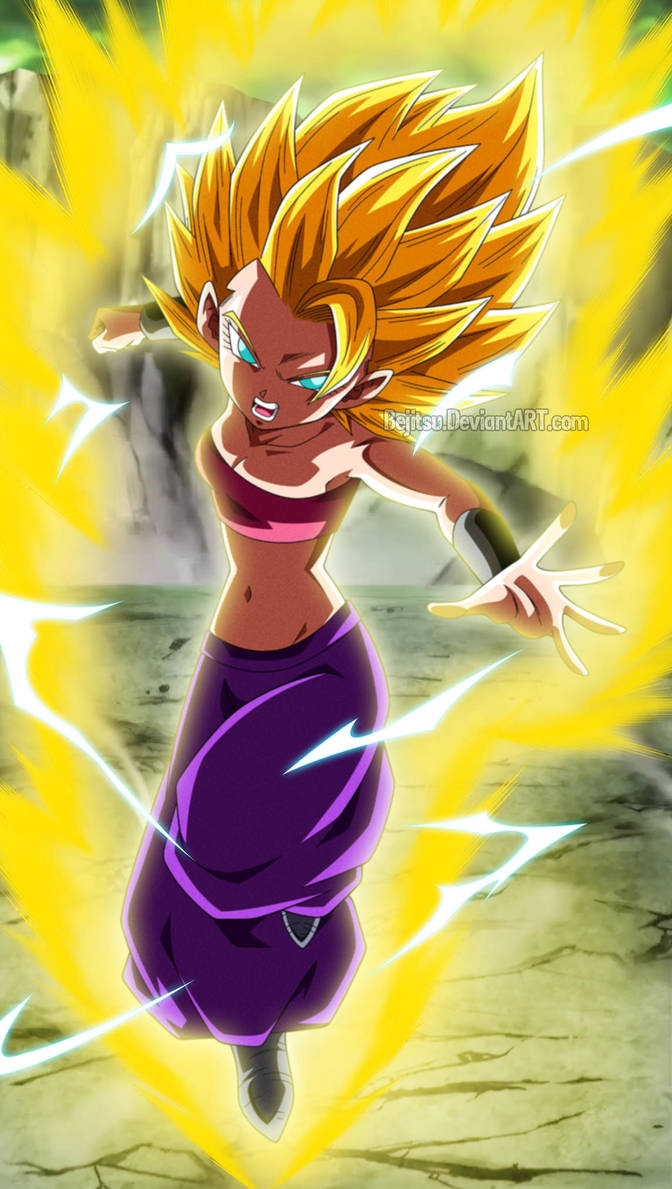 Dragon Ball Super - Caulifla SSJ2 by Bejitsu