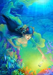 mermaid by ninejear