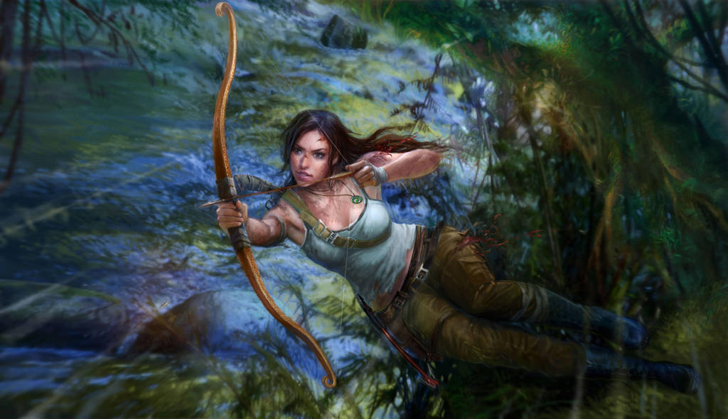 Tomb Raider by ninejear