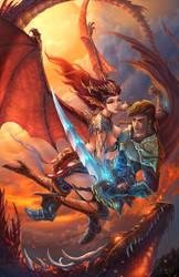 Dragon hunter by ninejear