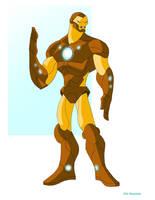Iron Man by EricGuzman