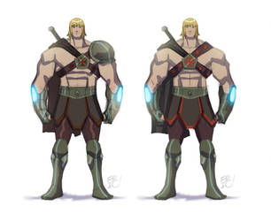 He-man Concepts by EricGuzman