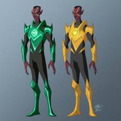Sinestro by EricGuzman