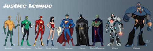 Justice League New 52 by EricGuzman