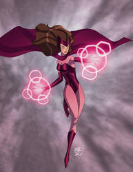 Scarlet Witch Commission by EricGuzman