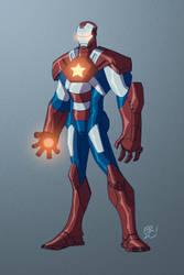 Iron Patriot by EricGuzman