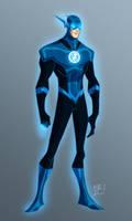 Blue Lantern Flash by EricGuzman