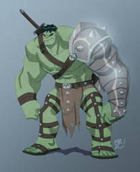 World War Hulk by EricGuzman