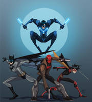 The Bat Family by EricGuzman