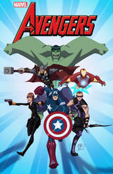 The Mighty Avengers by EricGuzman