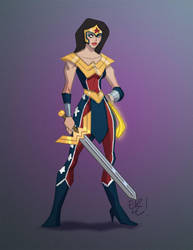 Wonder Woman by EricGuzman