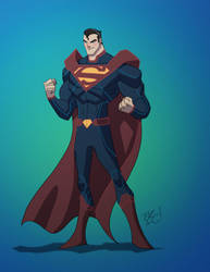 Superman by EricGuzman