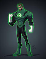Green Lantern by EricGuzman