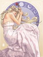 Princess Serenity by Hanasu