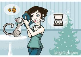 Christmas Card by Hanasu