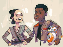 that's so rey finn by michaelfirman