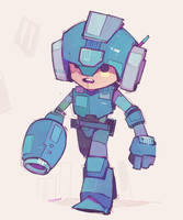 Mega Man by michaelfirman