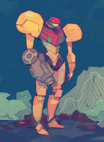 Samus by michaelfirman