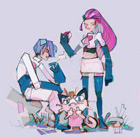 Team Rocket by michaelfirman