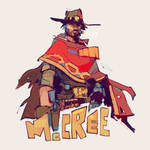 McCree from Overwatch by michaelfirman