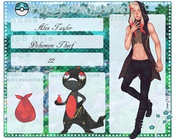 Trainer Card- Alex Taylor by DeviousOtter