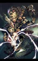 :Street-Fighter: by lehuss