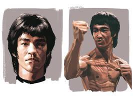 I am Bruce Lee by lehuss