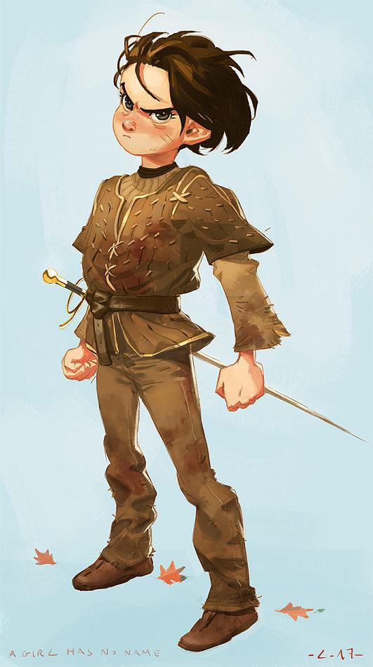 :Arya Stark: by lehuss