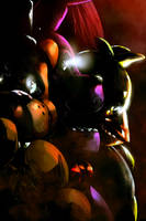 Five Nights at Freddy's: The Fazbear Legacy cover2 by EyeOfSemicolon