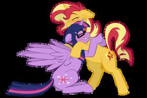 MLP - SciSet Hugs by VerumTee