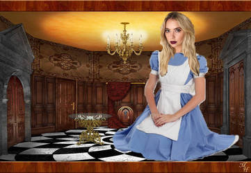 Ashley Benson in Wonderland by darkshadow278