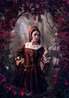 Medieval lady by LenaSunny