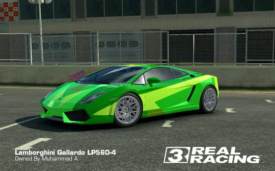 Real Racing 3: Lamborghini Gallardo LP560-4 Custom by akays1991