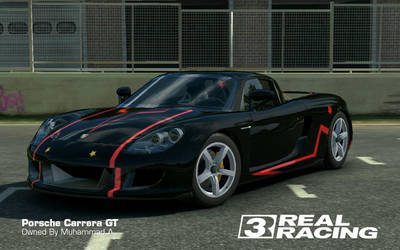 Real Racing 3: Porche Carrera GT custom decal by akays1991